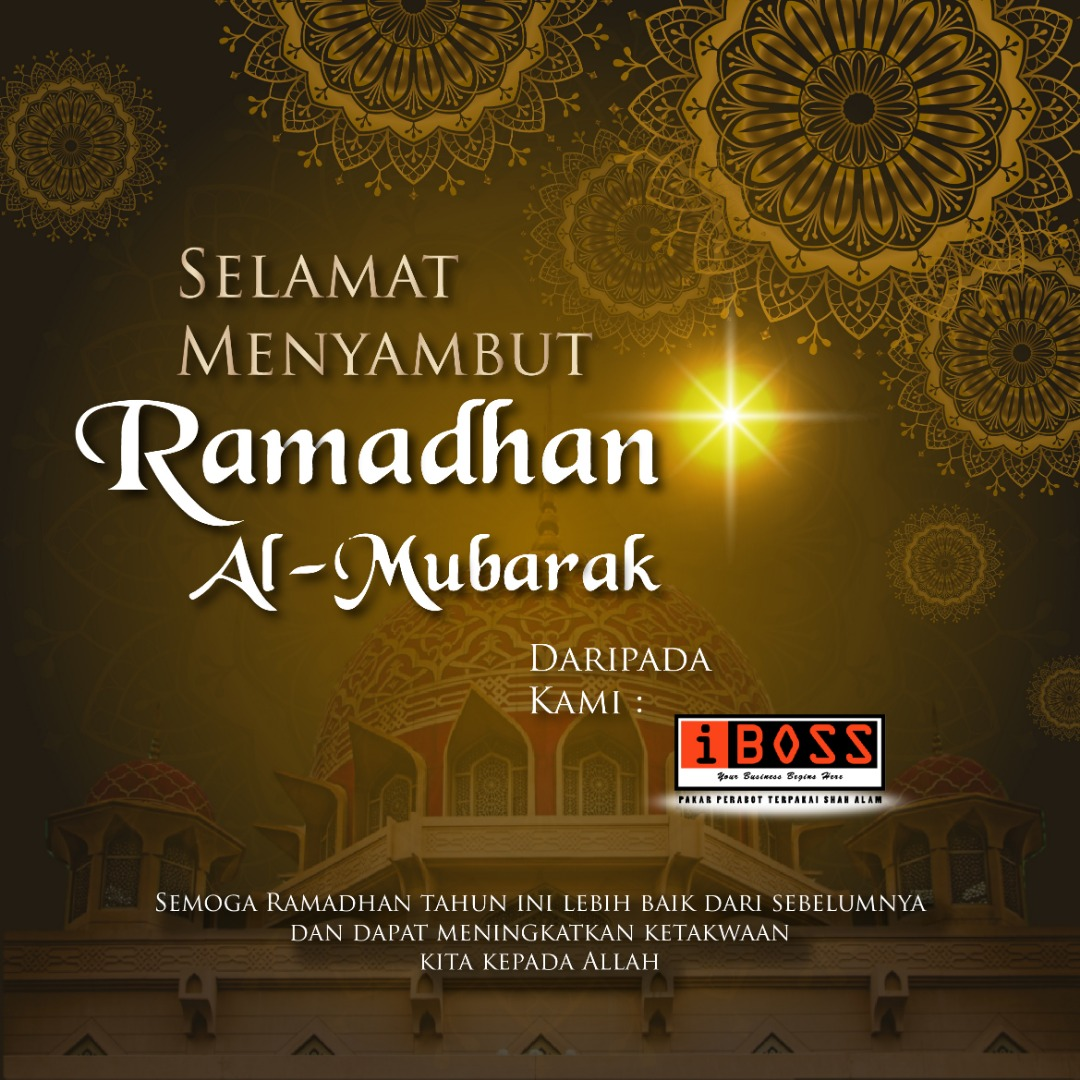 RAMADHAN KAREEM TO ALL MUSLIM.